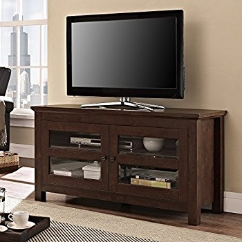 Impressive Unique Cordoba TV Stands Within Amazon Walker Edison 44 Cordoba Corner Tv Stand Console (Image 25 of 50)