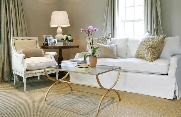 Impressive Unique French White Coffee Tables Pertaining To Brass Glass Coffee Table Design Ideas (View 33 of 50)