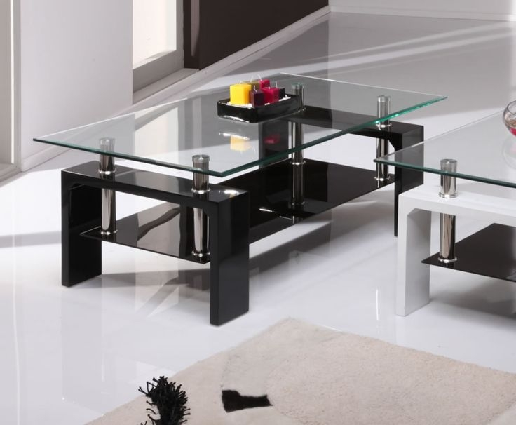 Impressive Unique Glass And Black Coffee Tables Throughout Best 25 Black Coffee Table Sets Ideas On Pinterest Diy Living (Image 29 of 50)