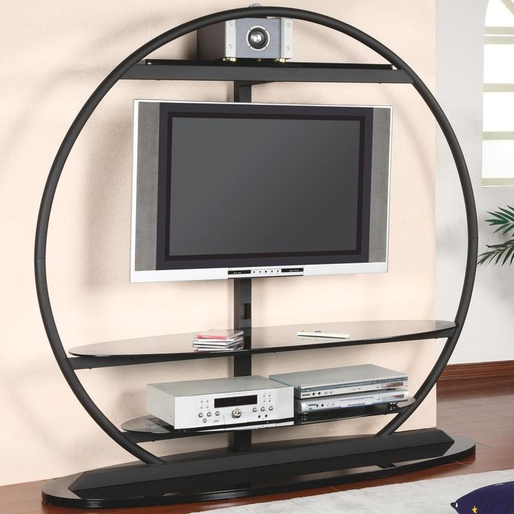 Impressive Unique Round TV Stands Intended For Modern Design Tv Stand Tv Stands Corner Tv Standentertainment (Image 32 of 50)
