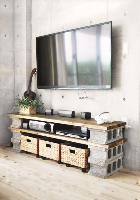 Impressive Unique Under TV Cabinets Throughout Best 25 Tvs For Kitchens Ideas On Pinterest Tv Now And Next Tv (Photo 5 of 50)