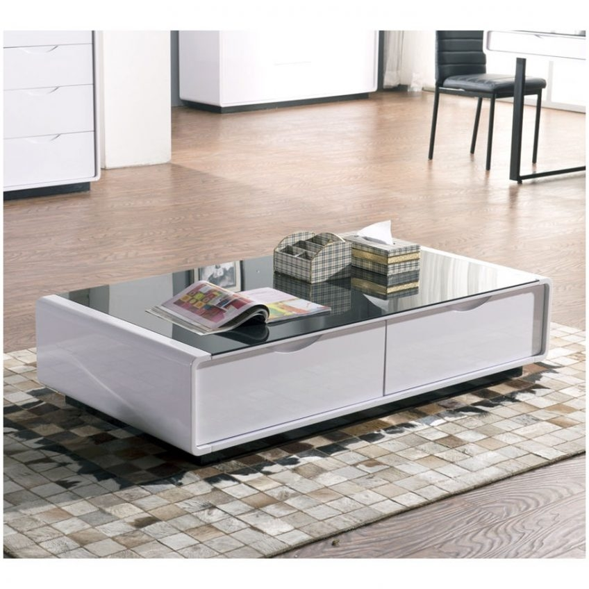 Impressive Unique White High Gloss Coffee Tables With Coffee Table White High Gloss Cocinacentralco (View 34 of 50)