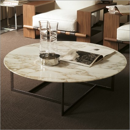 Impressive Unique White Marble Coffee Tables Intended For Round Marble Coffee Table (Image 28 of 50)