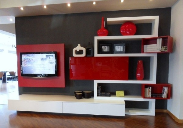 Impressive Variety Of Black And Red TV Stands Within Living Room Tv Stands Living Room Furniture Living Room With Tv (View 24 of 50)