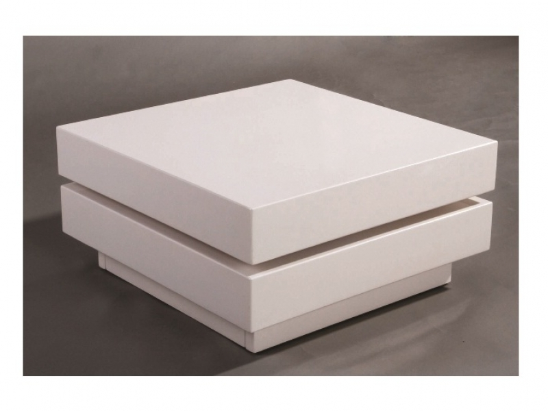 Impressive Variety Of Coffee Tables White High Gloss For Taupo Extending Coffee Table White High Gloss Love4furniture (Image 20 of 40)
