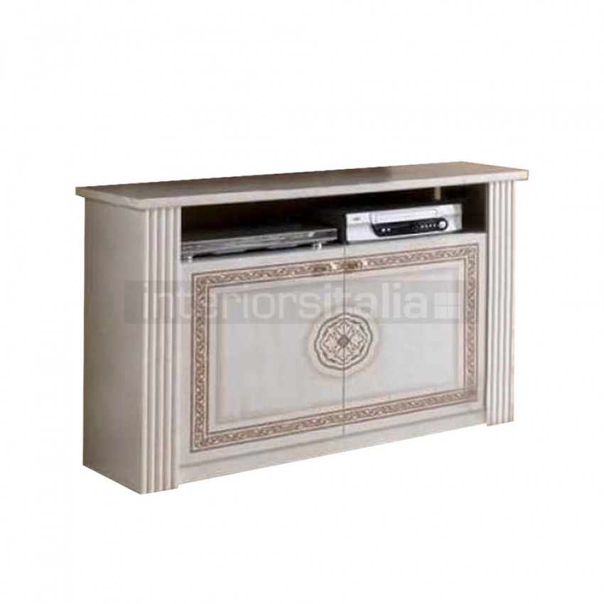 Impressive Variety Of Cream TV Cabinets Intended For Classic Italian Tv Cabinets Italian Furniture Interiors Italia (Image 27 of 50)