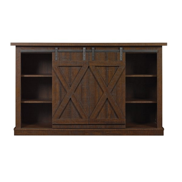 Impressive Variety Of Dark Oak Corner TV Cabinets With 60 69 Inch Tv Stands Youll Love Wayfair (Image 27 of 50)