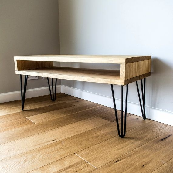 Impressive Variety Of Hairpin Leg TV Stands With Regard To Best 25 Solid Wood Tv Stand Ideas On Pinterest Reclaimed Wood (Image 27 of 50)