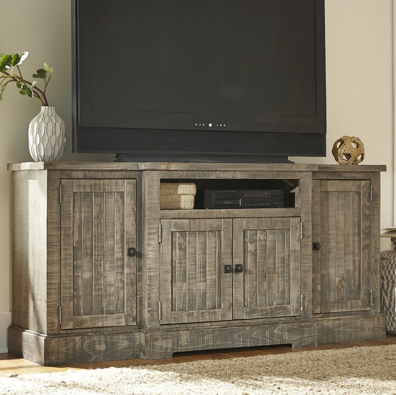 Impressive Variety Of Maple Wood TV Stands In Extra Tall Tv Stands Wayfair (View 45 of 50)