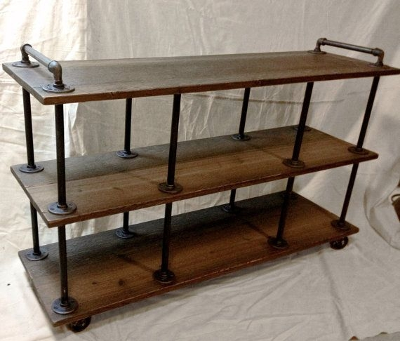 Impressive Variety Of Metal And Wood TV Stands With Regard To Best 20 Industrial Tv Stand Ideas On Pinterest Industrial Media (Image 27 of 50)