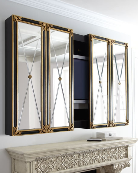 Impressive Variety Of Mirrored TV Cabinets Within Maitland Smith Plasma Tv Cabinet (View 49 of 50)