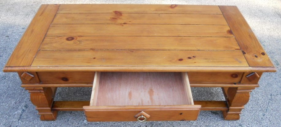 Impressive Variety Of Pine Coffee Tables With Storage Within Pine Coffee Table (Image 30 of 50)