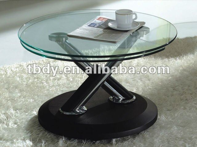 Impressive Variety Of Revolving Glass Coffee Tables Throughout Revolving Glass Coffee Table (Image 24 of 40)
