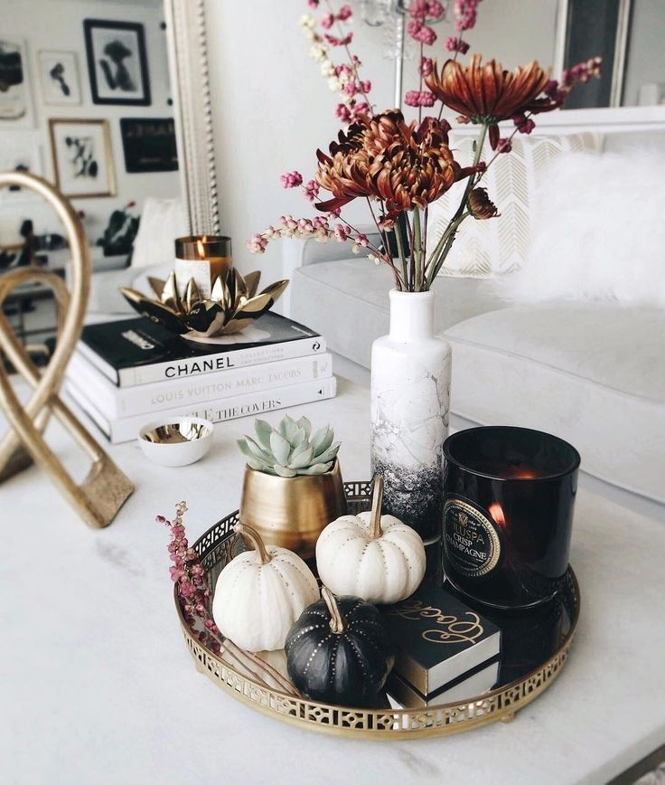 Impressive Variety Of Round Coffee Table Trays Within Best 25 Coffee Table Tray Ideas On Pinterest Wooden Table Box (Image 33 of 50)