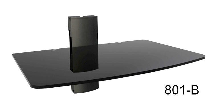 Impressive Variety Of Single Shelf TV Stands Pertaining To Tv Stands Tv Stand Mounts Tv Wall Mount Stand Painted In Black (View 49 of 50)