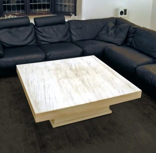 Impressive Variety Of Square Stone Coffee Tables In Coffee Table Awesome Stone Top Coffee Table Image Hd (Image 23 of 40)