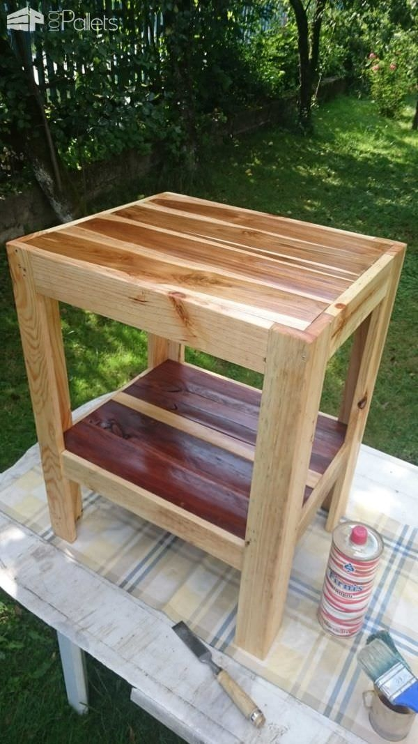 Impressive Variety Of Wooden Garden Coffee Tables Within Small Garden Coffee Table Pallet Ideas 1001 Pallets (View 7 of 50)