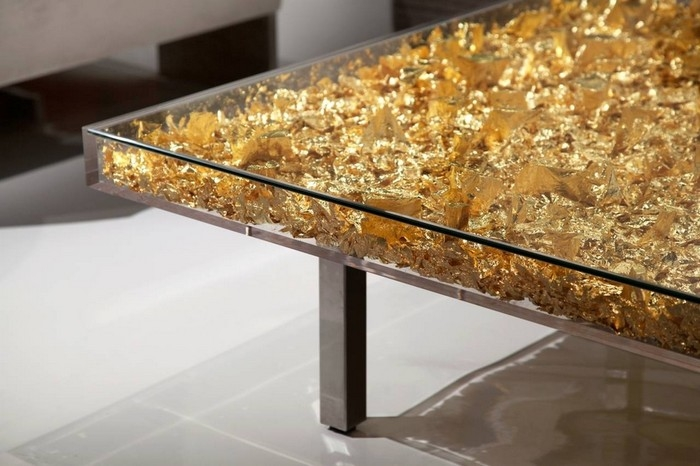 Impressive Well Known Art Coffee Tables Inside Art Furniture Yves Klein Coffee Table (Image 30 of 50)