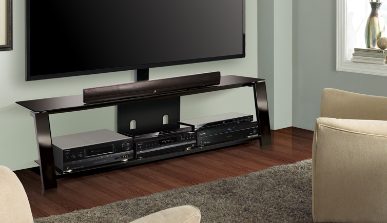 Impressive Wellknown Bell'O Triple Play TV Stands With 1 19 (Photo 24 of 50)