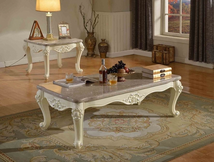 Impressive Well Known Bordeaux Coffee Tables For Meridian Furniture 205 C Bordeaux Coffee Table Rich Cherry Ornate (Image 33 of 50)