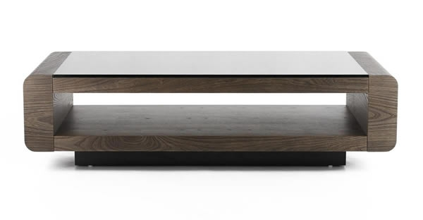 Impressive Well Known Bordeaux Coffee Tables In Coffee Table Rounded Edge Coffee Table Furnitude Bordeaux Coffee (View 13 of 50)