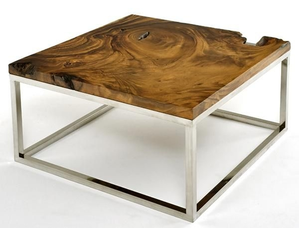 Impressive Wellknown Chrome And Wood Coffee Tables Regarding 69 Best Unique Coffee Tables Images On Pinterest Cocktail Tables (Image 28 of 50)