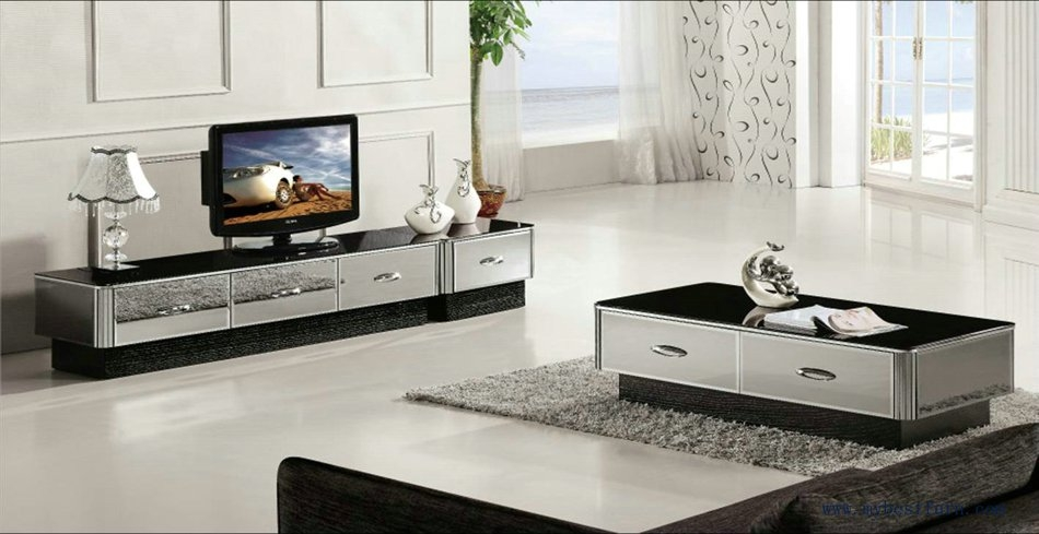 Impressive Wellknown Coffee Table And Tv Unit Sets In Living Room Coffee Table And Tv Stand Set Gray Mirror Xh (Image 32 of 50)