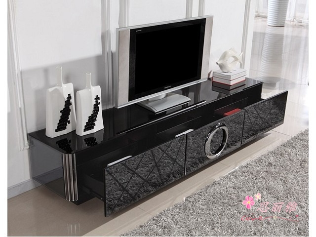 Impressive Well Known Contemporary Glass TV Stands Pertaining To Tv Hanger Picture More Detailed Picture About Modern Glass Tv (Image 24 of 50)