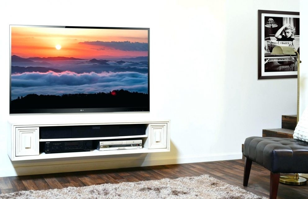 Impressive Wellknown Dwell TV Stands Pertaining To Floating Tv Shelf Unit Appalachianstorm (Image 26 of 50)
