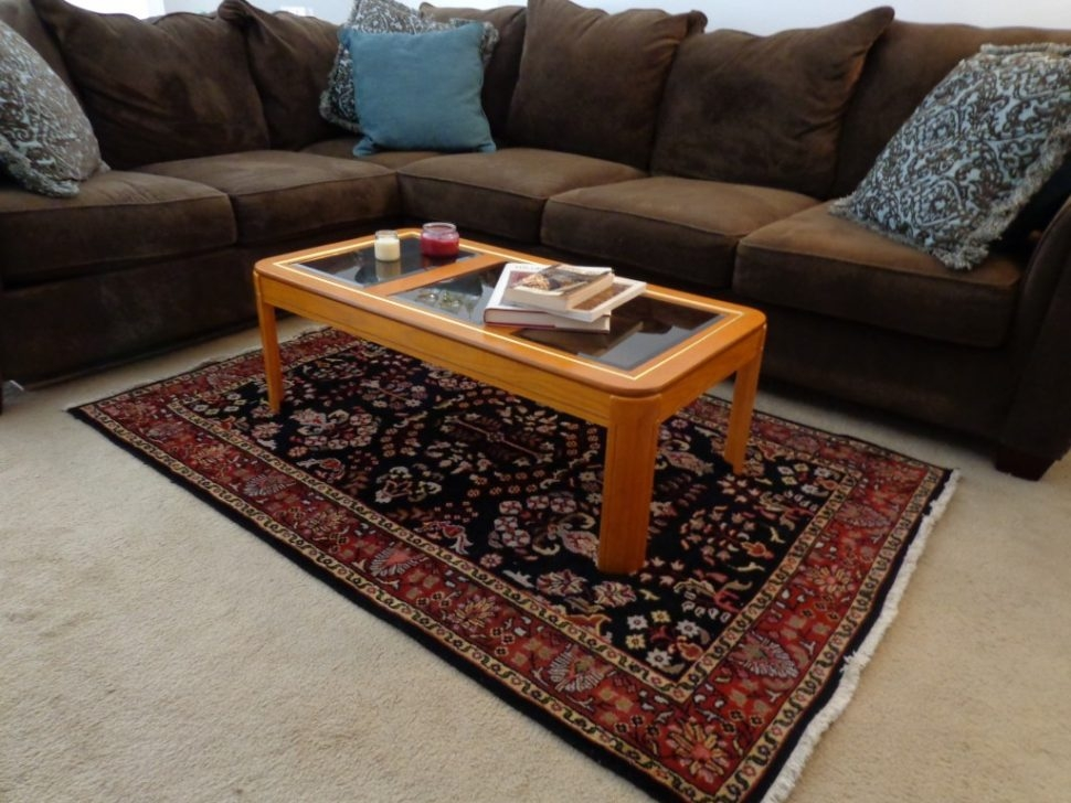 Impressive Wellknown Ethnic Coffee Tables Inside Living Room 19 Rug Sizes For Living Room What Size Area Rug (Image 22 of 50)