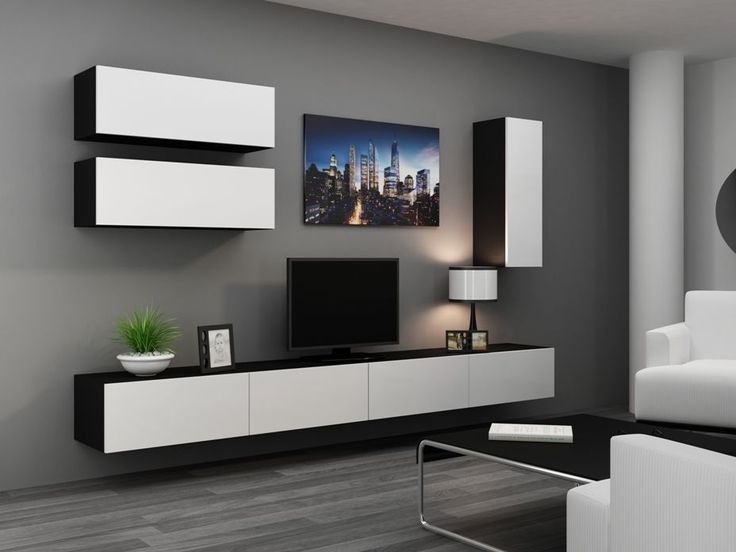 Impressive Wellknown High Gloss TV Cabinets Intended For High Gloss Tv Cabinet Tv Wall Unit Tv Stand Viva 13 Tv (View 26 of 50)