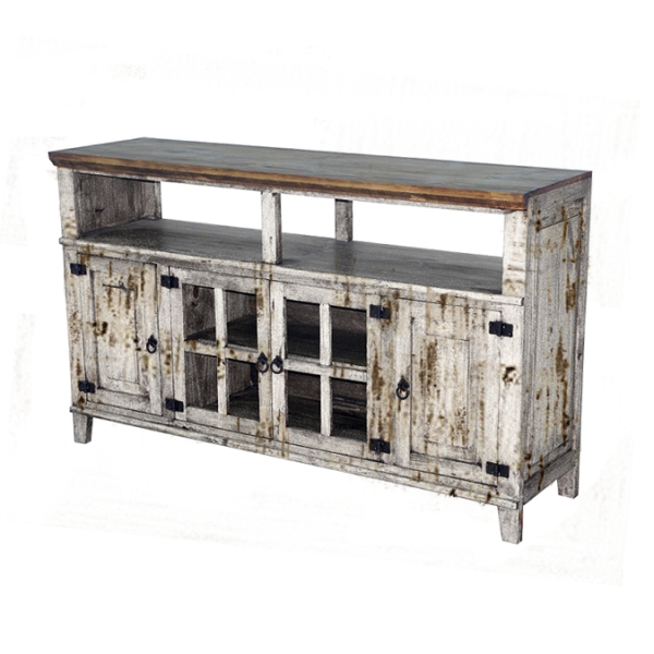 Impressive Wellknown Rustic Furniture TV Stands Intended For Rustic White Tv Stand Chubs Mattress Mattresses And Bedroom (Image 30 of 50)