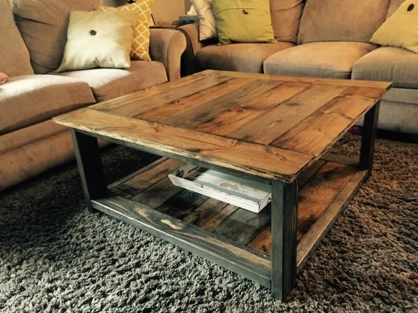 Impressive Wellknown Rustic Wood DIY Coffee Tables Pertaining To Best 25 Best Coffee Tables Ideas On Pinterest Best Coffee Table (Image 27 of 50)