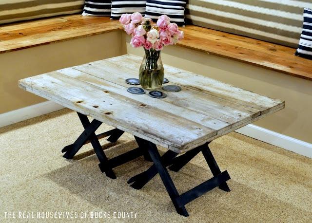 Impressive Wellknown Rustic Wood DIY Coffee Tables Regarding Diy Rustic Wood Coffee Table (Image 28 of 50)