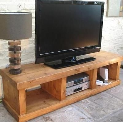 Impressive Wellknown Solid Pine TV Cabinets Pertaining To Best 25 Solid Wood Tv Stand Ideas On Pinterest Reclaimed Wood (Photo 11 of 50)