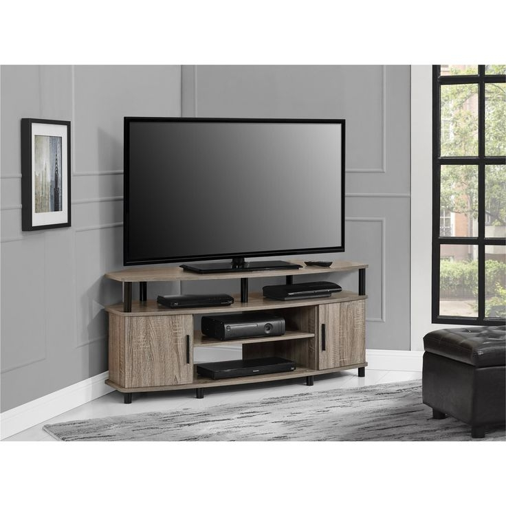 Impressive Well Known Trendy TV Stands With Regard To Best 25 Oak Corner Tv Stand Ideas On Pinterest Corner Tv (View 36 of 50)