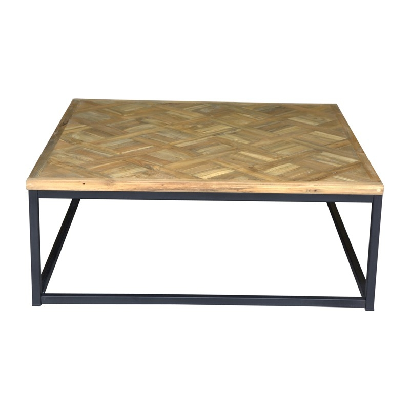 Impressive Wellliked Bordeaux Coffee Tables Regarding Bordeaux Coffee Table Square 100 X 100 Oneworld Collection (View 8 of 50)