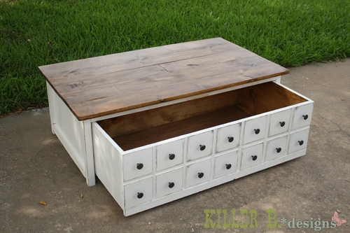 Impressive Wellliked Coffee Tables With Box Storage With Collection In Apothecary Coffee Table Hyannis Apothecary Storage (Image 36 of 50)