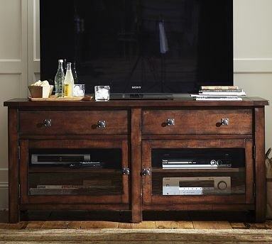 Impressive Wellliked Dark Wood TV Stands Inside 37 Best Stands Images On Pinterest (View 32 of 50)