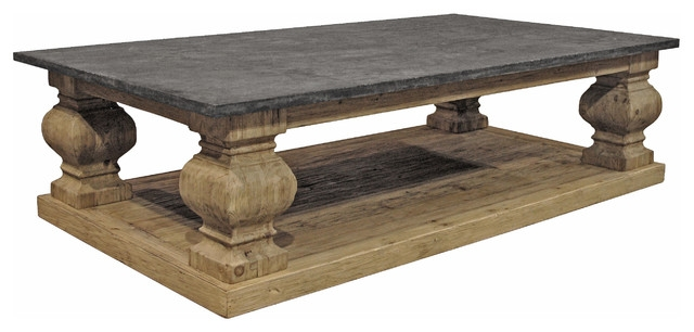 Impressive Wellliked French Country Coffee Tables For Living Room Top Round Stone Coffee Table Intended For With Decor (Image 34 of 50)
