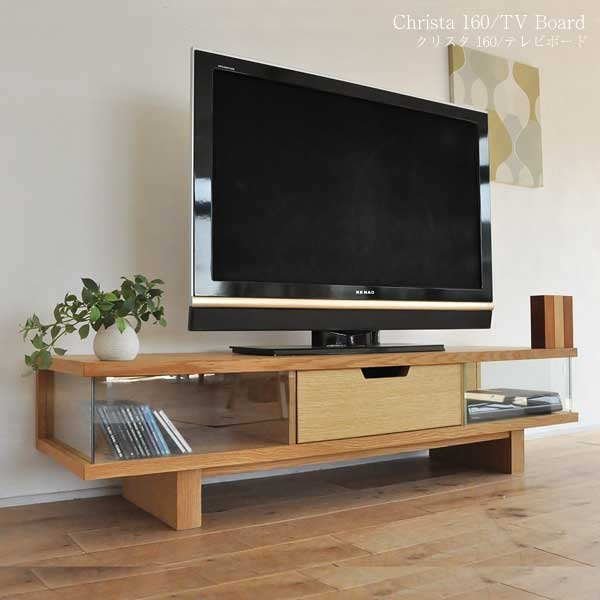 Impressive Wellliked Modern Oak TV Stands For Bridge Online Rakuten Global Market Snack Krista 160 Oak Tv (View 3 of 50)