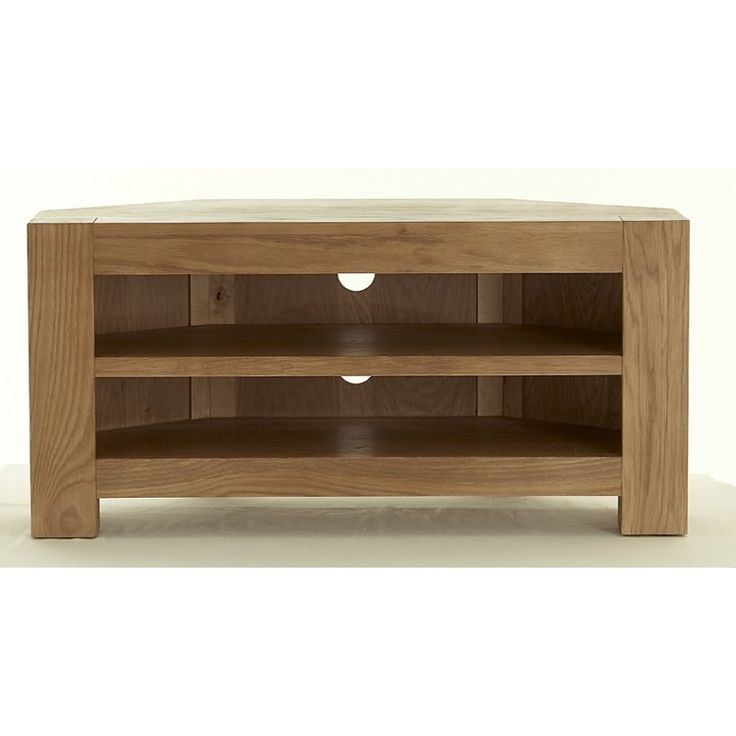 Featured Image of Oak Effect Corner TV Stands
