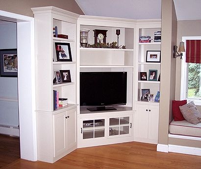 Impressive Wellliked Off White Corner TV Stands Intended For Best 25 Corner Entertainment Centers Ideas On Pinterest Corner (Image 31 of 50)
