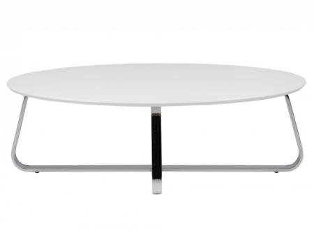 Impressive Wellliked Oval White Coffee Tables Regarding Large White Coffee Table (Image 29 of 50)