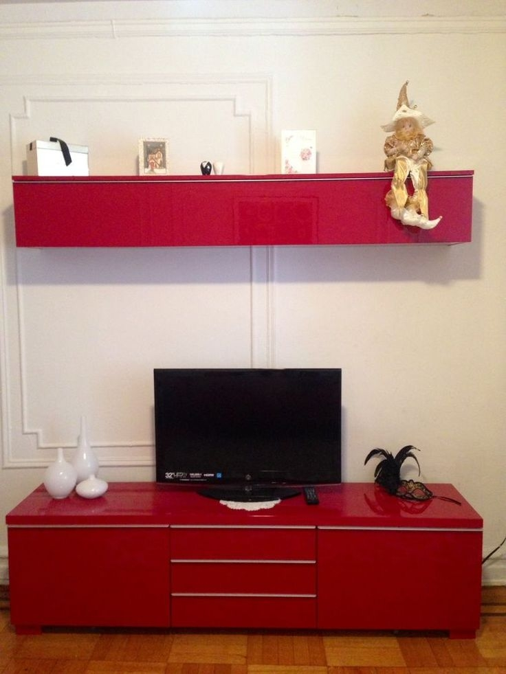 Impressive Wellliked Red Modern TV Stands With 54 Best Ikea Images On Pinterest Live Ikea Hacks And Ikea Ideas (Image 23 of 50)