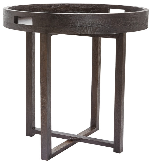 Impressive Wellliked Round Tray Coffee Tables With Similiar Black Round Side Table Keywords (Image 30 of 50)
