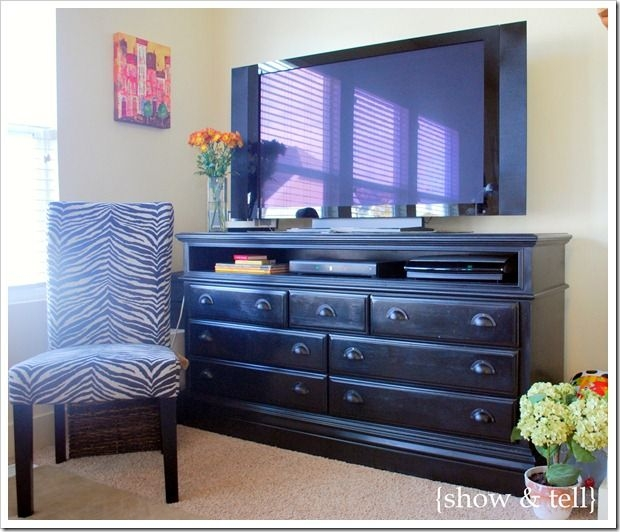 Impressive Wellliked Small TV Stands For Top Of Dresser With 20 Best Dresser As Entertainment Center Images On Pinterest (View 14 of 50)