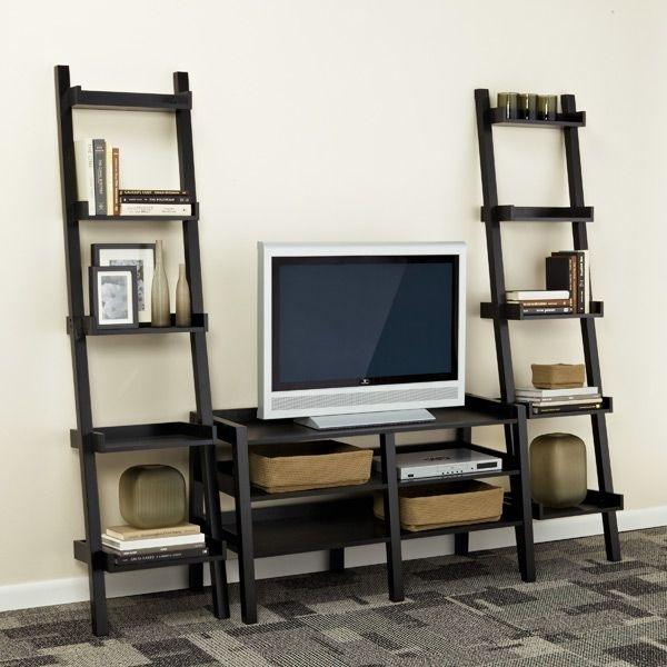Impressive Wellliked TV Stands With Bookcases Regarding Tv Stands Outstanding Modern Bookcase Stand Combo Photo Within (Image 30 of 50)