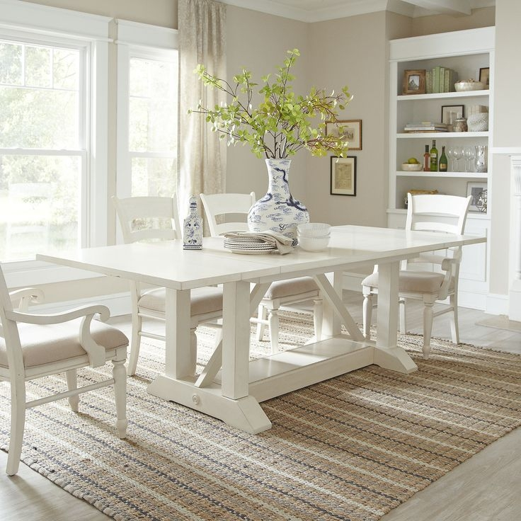 Impressive Wellliked White Cottage Style Coffee Tables With Regard To 14 Best Trestle Table Ideas Images On Pinterest (View 47 of 50)