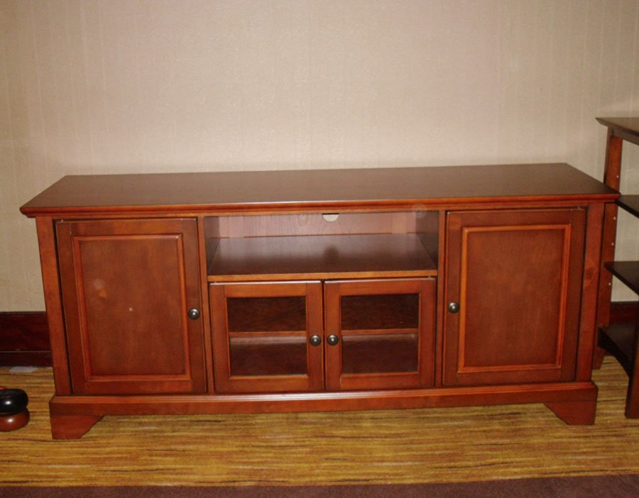 Impressive Wellliked Wooden TV Cabinets With Glass Doors Regarding Mx 6505 Wooden Tv Cabinetglass Door Tv Standmedia Stand Buy (Image 35 of 50)